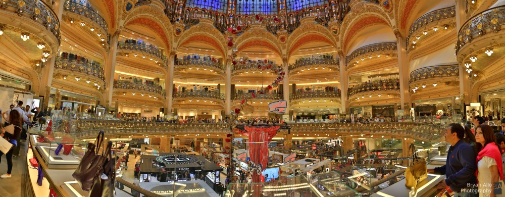 Paris Day 1 - Galeries Lafayette - Heaven on earth for Women. (1/2)
