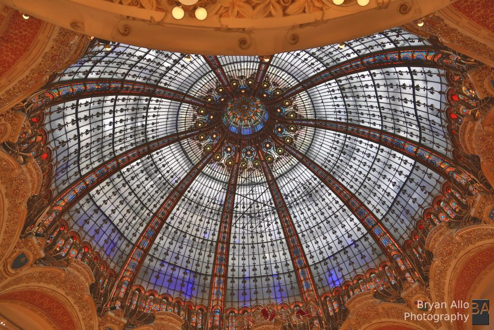 Paris Day 1 - Galeries Lafayette - Heaven on earth for Women. (2/2)