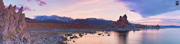 Mono Lake Sunset over the Sierras