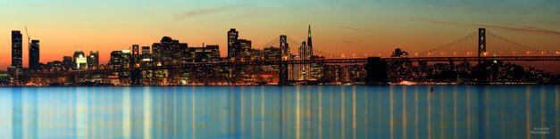 The last sunset over San Francisco for 2013