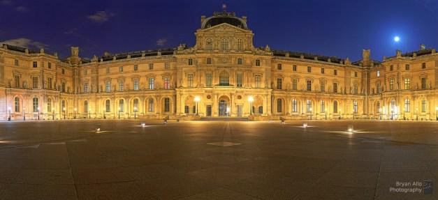 Le Louvre, Paris - 24 x 36 inches