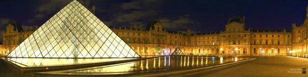 Le Louvre Panoramic - 18 x 72 inches