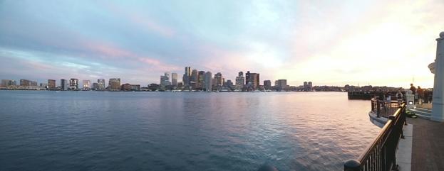 Quick panorama shot with phone.