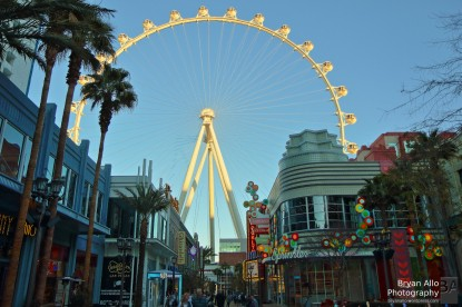 Walking to the High Roller